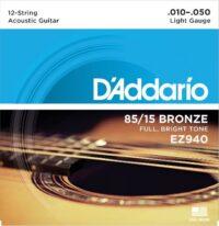 D'ADDARIO EZ940 12 corde